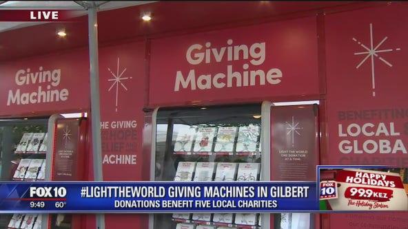 #LightTheWorld Giving Machines now open in downtown Gilbert