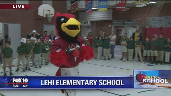 Back to school: Lehi Elementary School
