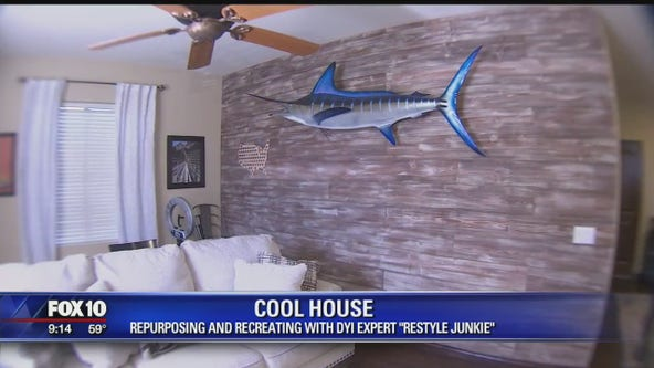 Cool House: Repurposing and recreating with DIY expert the 'Restyle Junkie'
