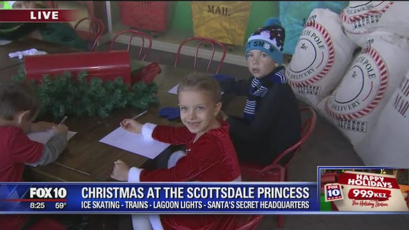 Cory's Corner: Christmas at the Scottsdale Princess