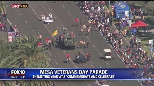 Thousands attend Phoenix Veterans Day parade