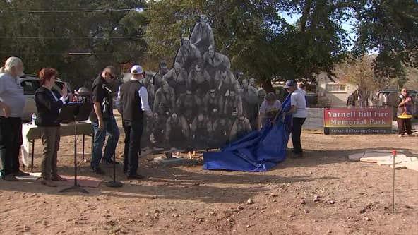 Fallen Granite Mountain Hotshot crews honored with new memorial