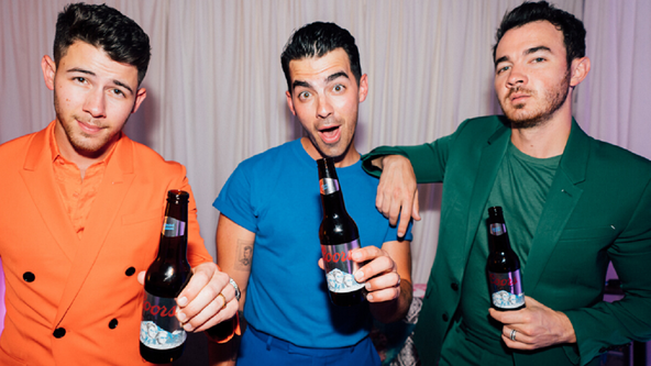 Jonas Brothers launch limited-edition Coors Light beer