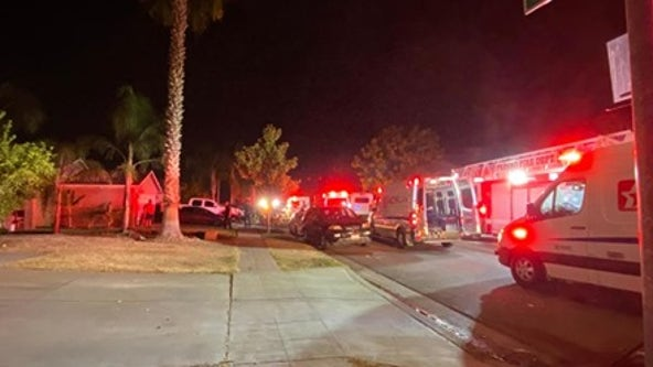 4 dead, 10 wounded during family gathering at Fresno home