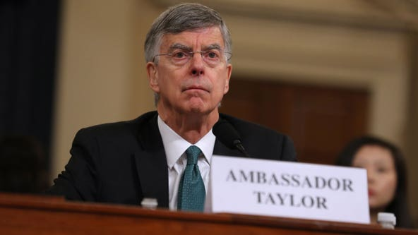 Ambassador Taylor says Trump asked another diplomat about Ukraine investigations