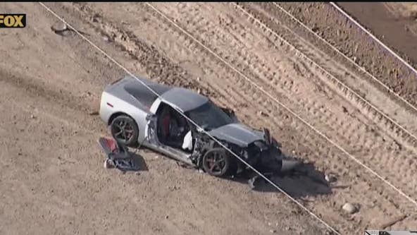 4 injured after two cars and motorcycle collide in the West Valley