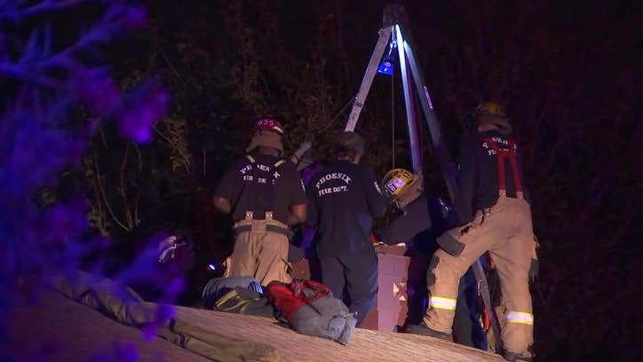17-year-old girl who tried to get into her home via chimney had to be rescued by Phoenix firefighters - FOX 10 News Phoenix