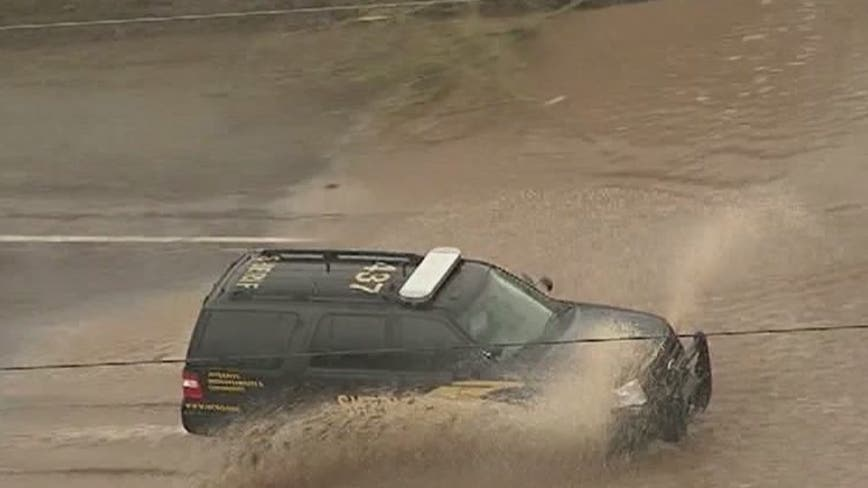 Flash flood watches cover much of Arizona; rain, snow on tap