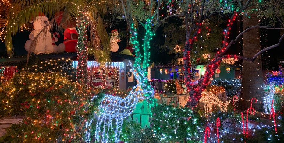 Christmas Lights 2020 85051 Phoenix's best Christmas light displays for 2019