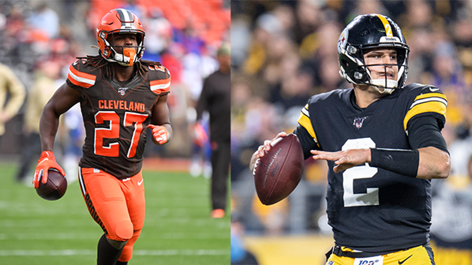 Steelers face off against the Browns n Thursday Night Football on FOX. (Photo Credit: Getty Images)