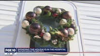 Man with cancer makes the best of his hospital RV stay with Christmas decorations, happy outlook