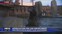 Appreciation for law enforcement event at Wildlife World Zoo