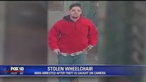 Man arrested after trying to steal woman's wheelchair while riding light rail