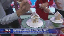 Gingerbread decorating party with La Grande Orange