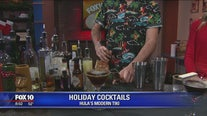 Holiday cocktails at Hula's