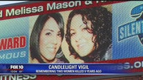 Vigil held for victims in Phoenix double murder case that remains unsolved