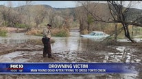 GCSO: Man dead after car was swept away by Tonto Creek floodwaters