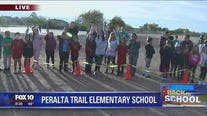 Cory's Corner: Back to school at Peralta Trail Elementary School