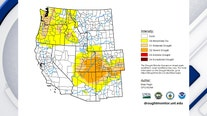 Pocket of severe drought lingers over Southwest US