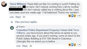 Wanted man appears to respond back to police's Facebook post about him