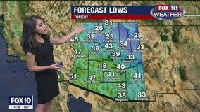 Weather Forecast 4 p.m. 12-12-19