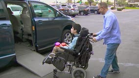 Chandler family receives wheelchair accessible van from nonprofit
