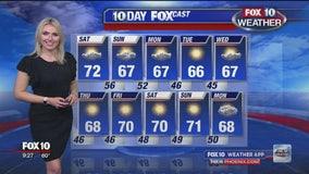 9 p.m. Weather Forecast - 12/6/19