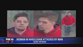 Man attacks woman in wheel chair