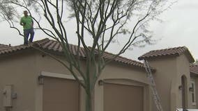 Recent storms in the Valley leave behind roof damage, calls increase for repairs