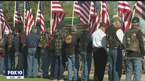 Many showed up to remember Vietnam veteran who died with no known living family member