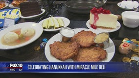 Celebrating Hanukkah with Miracle Mile Deli