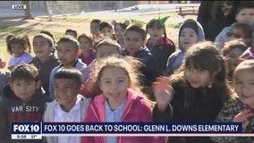 Cory's Corner: Back to school at Glenn L. Downs Elementary School