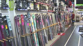 Ski shops seeing a surge of business thanks to winter storms