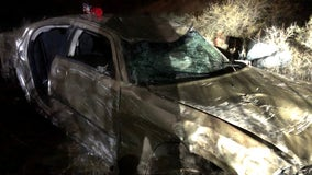 Jerome PD: Car flies more than 100 feet in the air before rolling another 300 feet