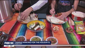 Tamale making for the holidays with Food City