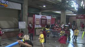 Hundreds of valley kids hang with the Diamondbacks and receive new shoes