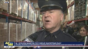 Cory's Corner: Shopping day for the W. Steven Martin Toy Drive