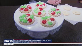 Southwestern Christmas cookies with Voyager Bake Shop