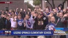Cory's Corner: Back to school at Legend Springs Elementary School