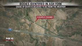 YCSO: Exposure suspected in couple's death near Ash Fork