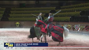 Cory's Corner: New Year's Eve at Medieval Times