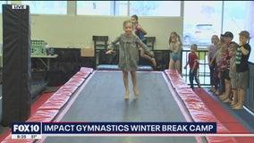 Cory's Corner: Winter break camp at Impact Gymnastics