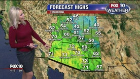 4 p.m. Weather Forecast 12-5-19