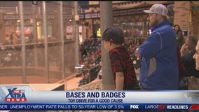 City of Gilbert's fire and police departments battle it out in Bases and Badges