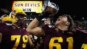 Arizona State grinds out 24-14 win over rival Arizona in Territorial Cup