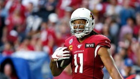 Larry Fitzgerald among 10 wide receivers on NFL's all-time team