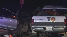 5 injured in 2-car crash in north Scottsdale