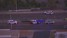 Chandler Police: Woman killed after she was struck by semi and SUV