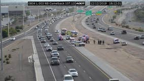 Goodyear Police investigating shooting along Loop 303 that injured a driver