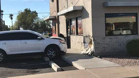Mesa PD: Suspected drunk driver crashes into Burger King